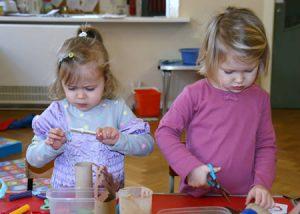 girls creating